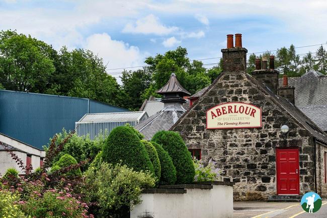 speyside distilleries road trip scotland