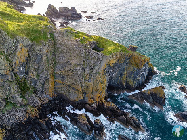 fast castle drone southern scotland itinerary