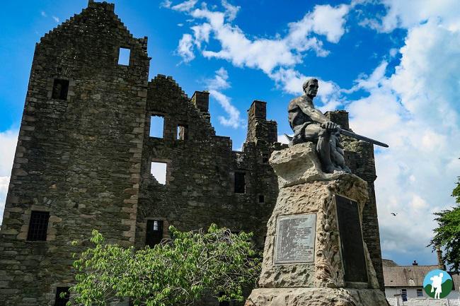 maclellan castle southern scotland itinerary