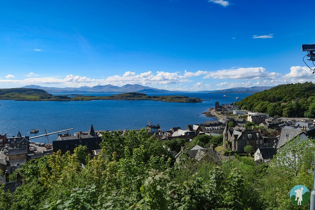 oban view scotland