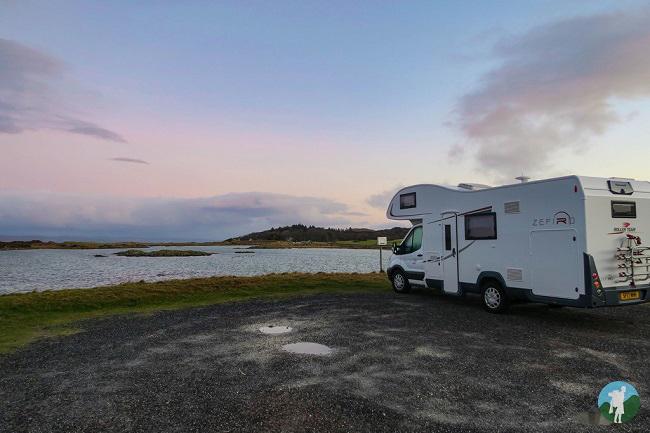 campervan hire scotland arisaig