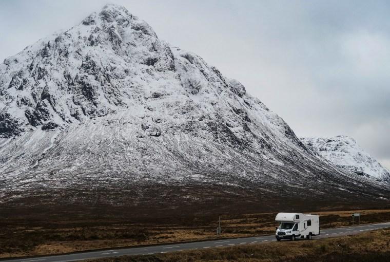 caravan hire scotland motorhome highlands