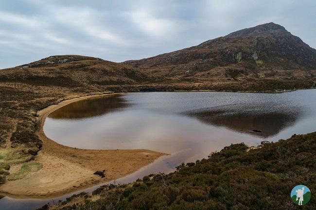 eaval north uist walking holidays scotland