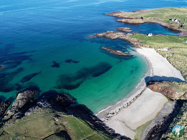 clachtoll beach north coast 500 campsites