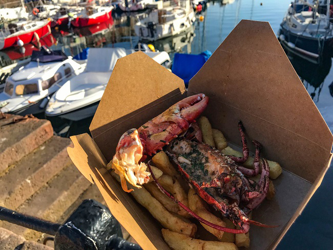 things to do in east lothian lobster