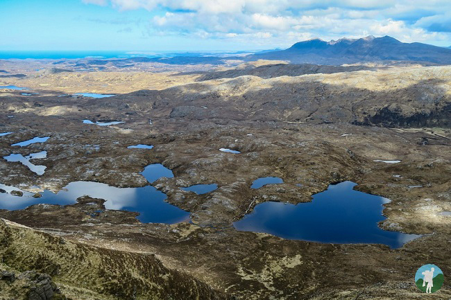 lochans suilven lochinver walks