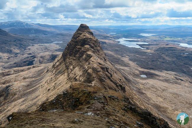 suilven ridge lochinver walks