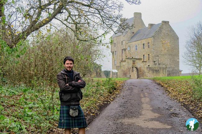 scotland vlog midhope castle