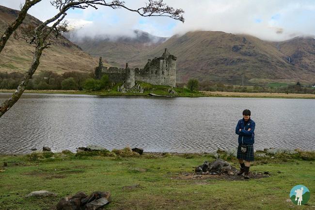kilchurn castle scotland vlog