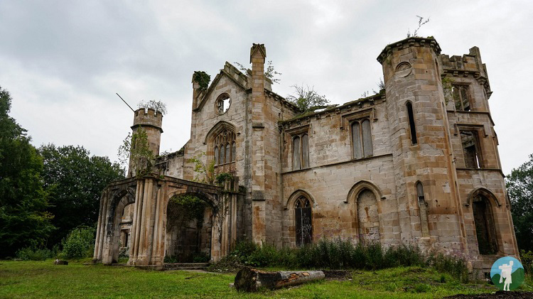 cambusnethan priory north lanarkshire scotland abandoned
