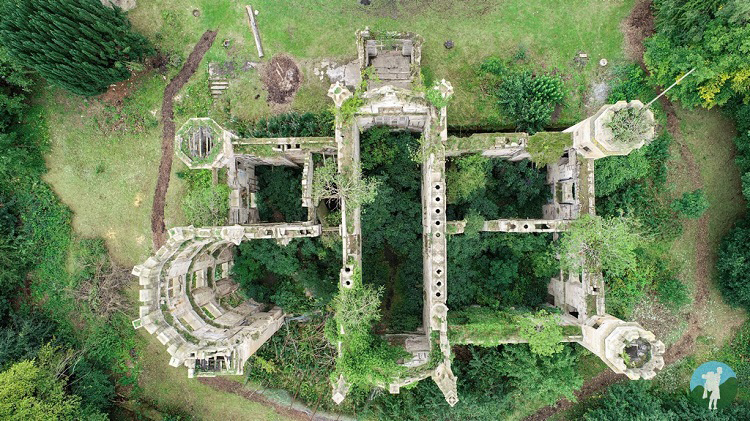 cambusnethan priory drone