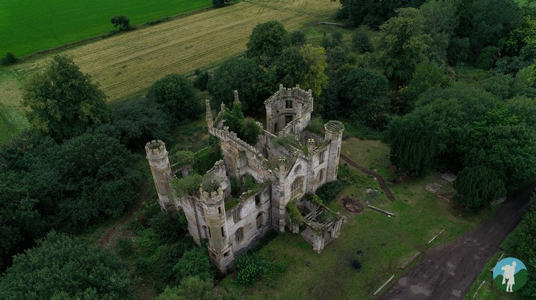 cambusnethan priory derelict places