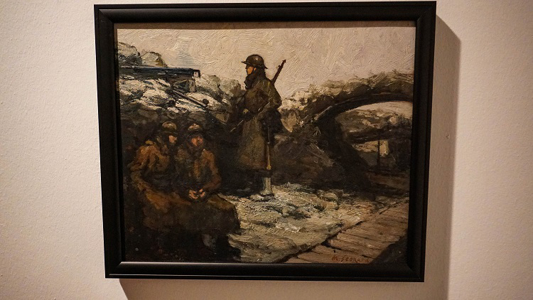 kelvingrove museum exhibitions trenches WWI