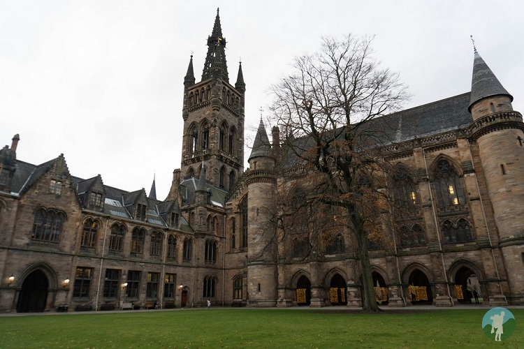glasgow university outlaw king filming locations