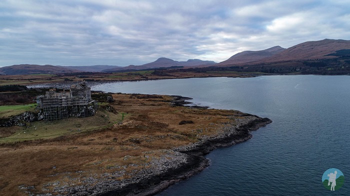 things to do on mull duart castle
