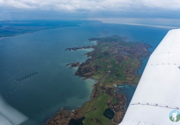 islay flight over gigha