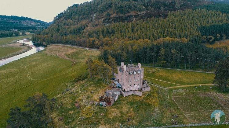 drone braemar castle