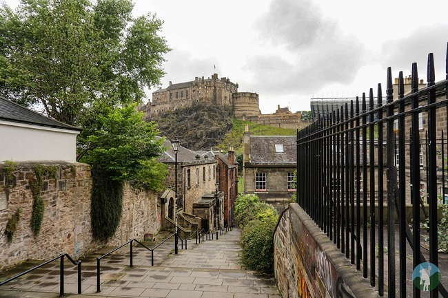 vennel edinburgh empty