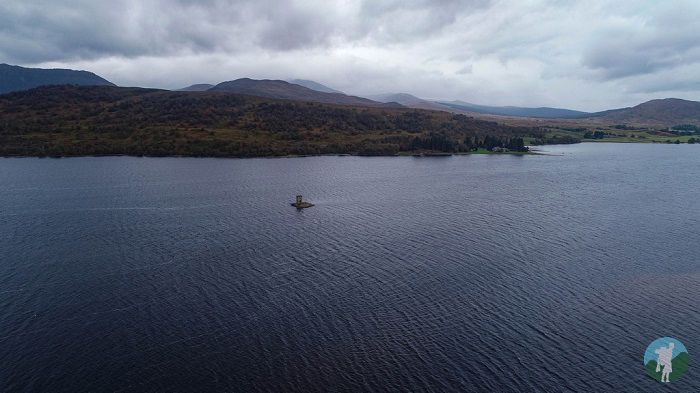 loch rannoch tower island