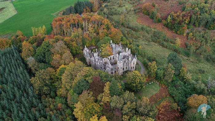 dunalastair house scotland october