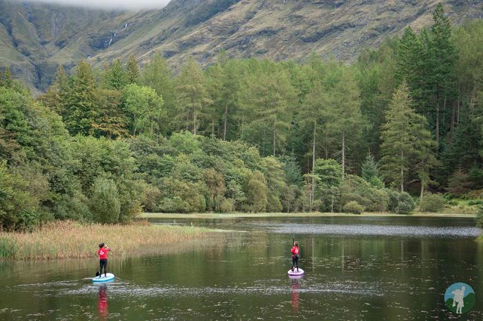 paddleboard glencoe lochan