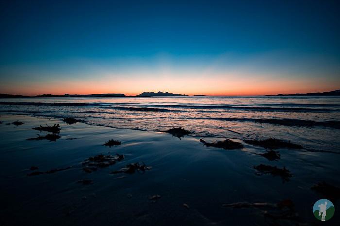 west coast of scotland road trip sunset