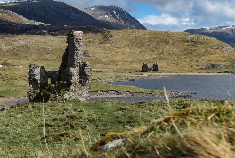 north coast 500 ardvreck castle itinerary