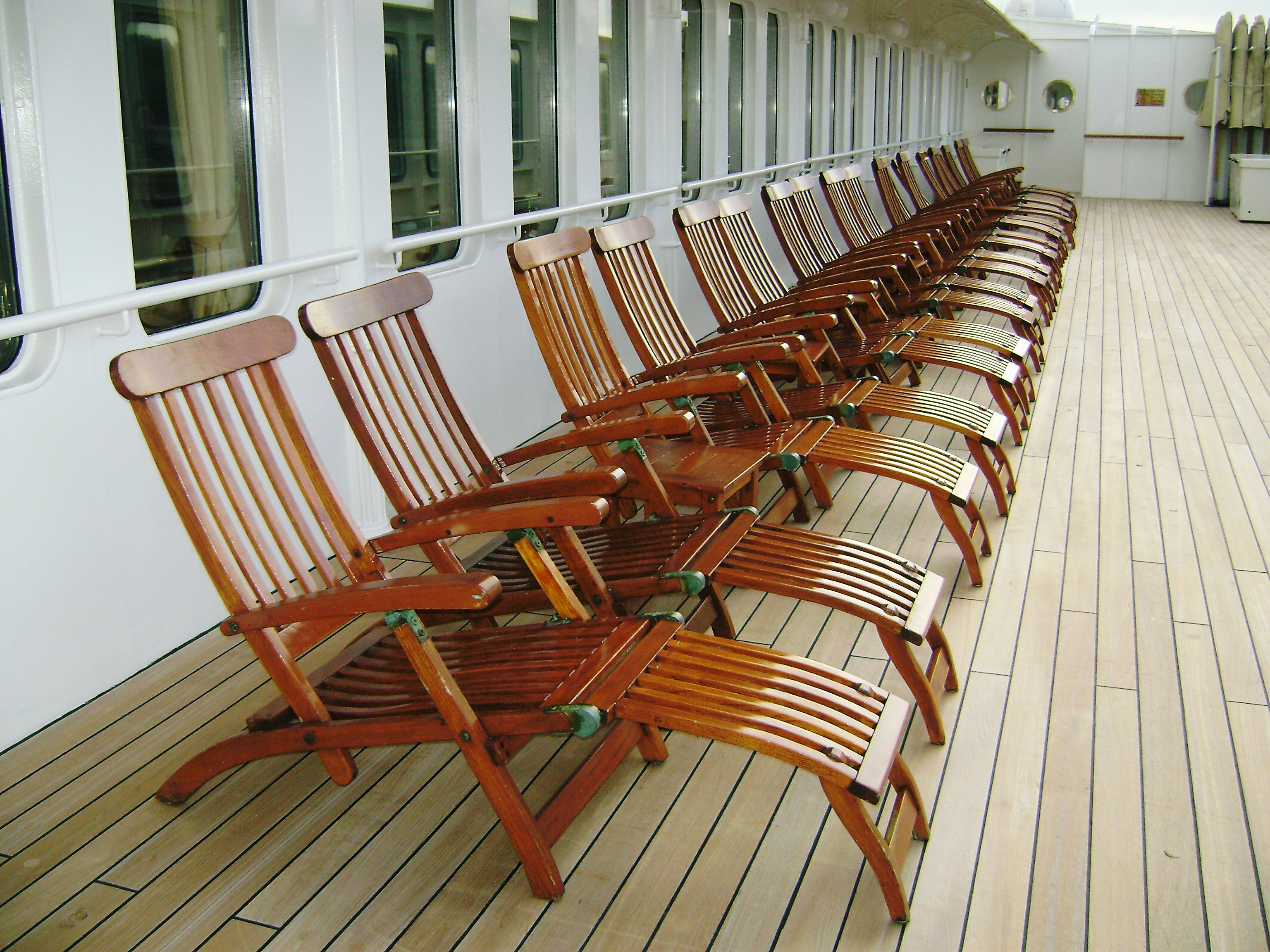 Titanic Deck Chair Titanic Travelswithanthony