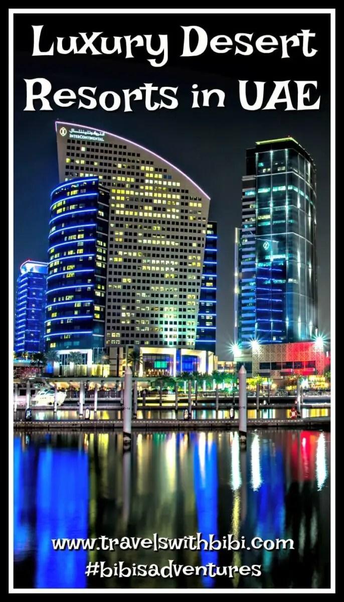 The Best Luxury Desert Resorts in UAE