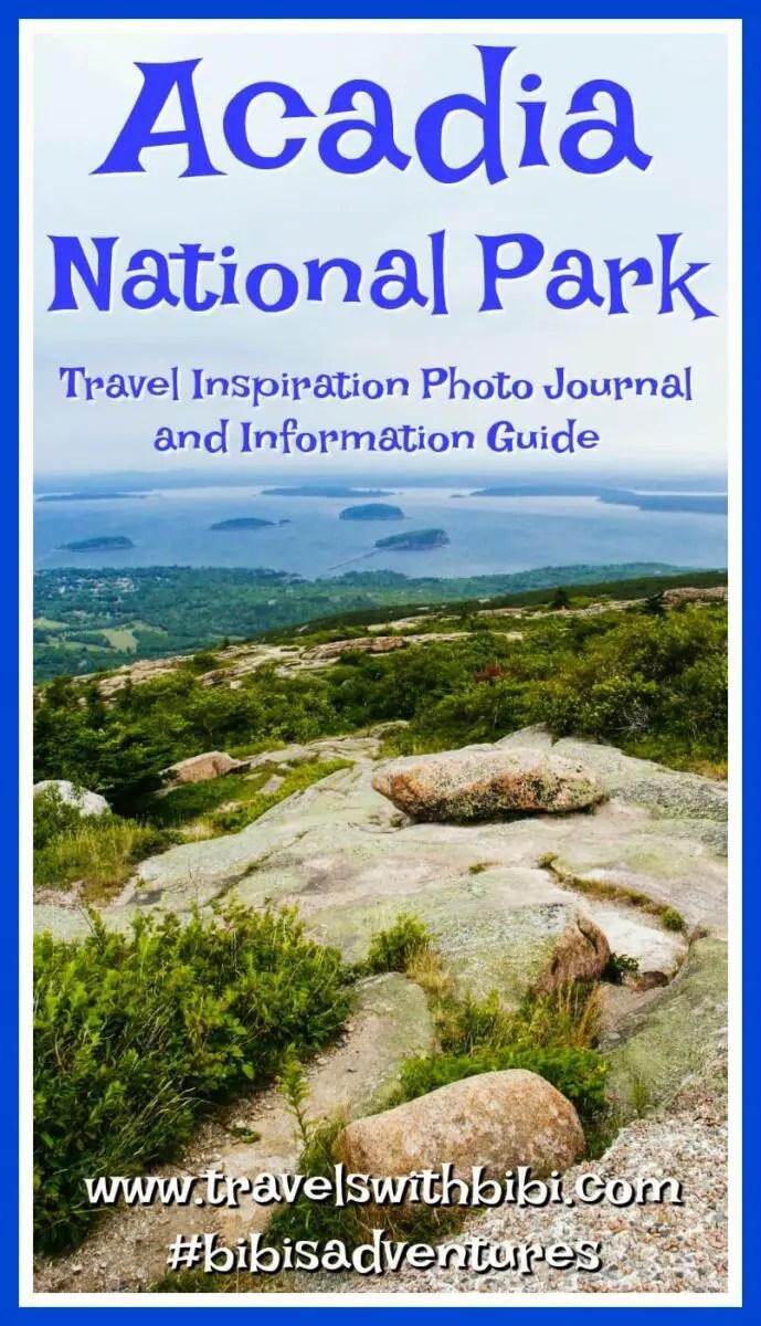New England\'s Crown Jewel: Acadia National Park Near Bar Harbor, Maine