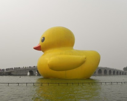 Beijing, Summer Palace, Rubber Duck