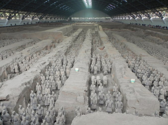 Xi'an, Xian, Terra Cotta Warrior, Army Formation