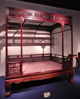 China, Shanghai, Shanghai Museum, Ming dynasty, Ming dynasty bed, furniture