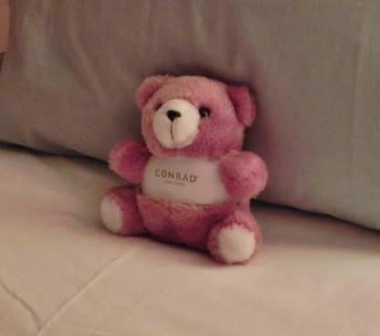 China, Hong Kong, Conrad Hilton, Conrad Bear, hotel