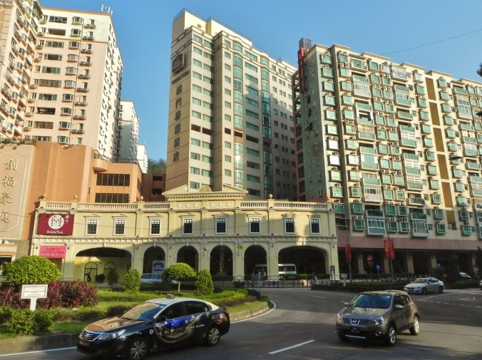 China, Hong Kong, Macau, old, new, traffic circle