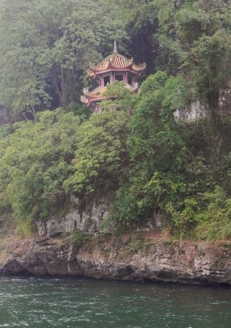 Guiling, Li River, Cruise, Buddhist Pagoda