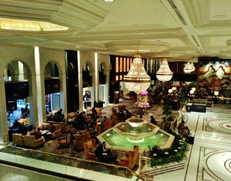 China, Hong Kong, Kowloon, Shangri-La, hotel, lobby