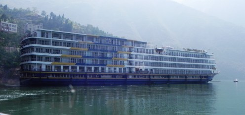 China, Yangtze River, Yangtze Cruise, Yangzi, Chang Jiang, Wu Gorge, Victoria Anna, Three Gorges