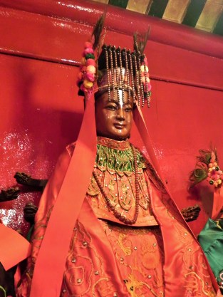 China, Hong Kong, Man Mo Temple, Empress, Statue