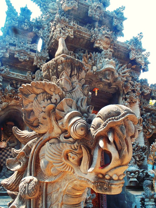 Famous Bali Dragon Sculpture Travelswithg