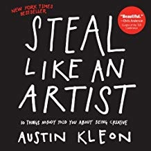 Steal like an artist, cover