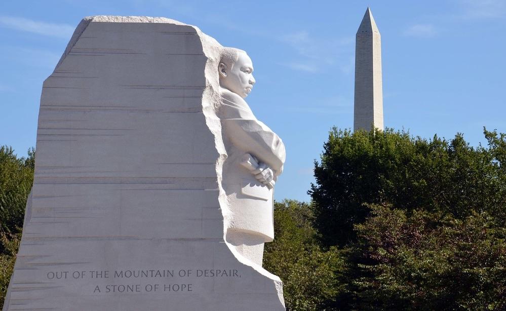 MLK plus wa. Monument