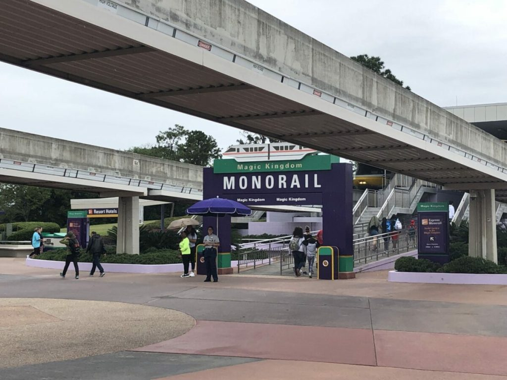 Disney World Monorail
