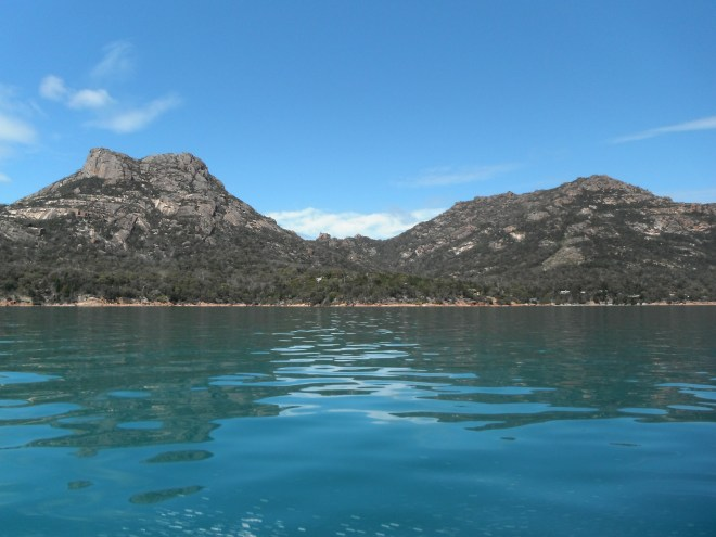 Great Oyster Bay, Freycinet Peninsula, Tasmania, Australia