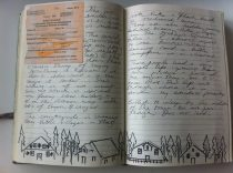 Page from my Russia Sketchbook