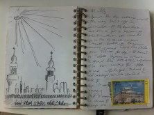 Page from my Egypt Sketchbook
