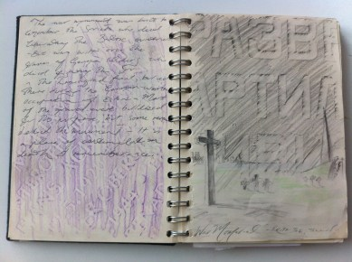 Page from my Baltic States Sketchbook
