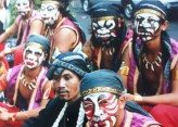 Carnival day in Yogyakarta, Java