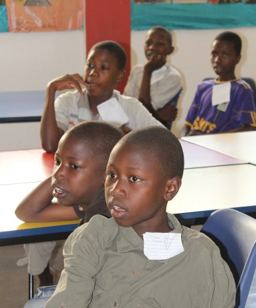 Isamilo Saturday School - English lesson