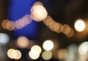 Fairy lights in Gamla Stan, Stockholm